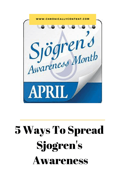 5 Ways To Spread Sjogren's Awareness