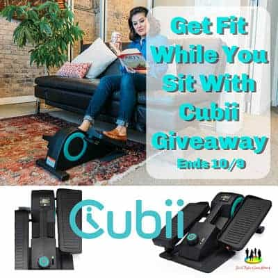 Get Fit While You Sit With Cubii Giveaway