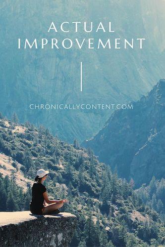 Actual Improvement mountains