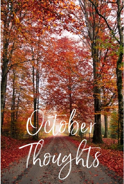 October Thoughts